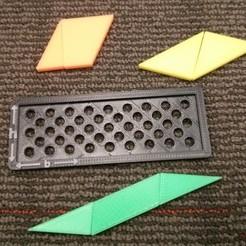 Free 3D printer model Area of a Parallelogram, Yazhgar