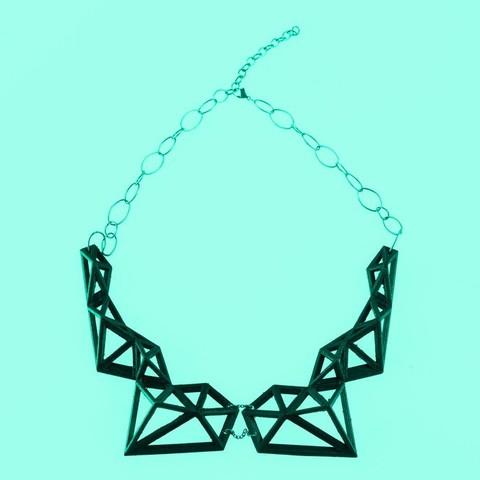 Free 3D printer files Polix - Polygonal Necklace, Yazhgar