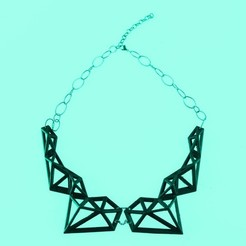 Download free 3D printing templates Polix - Polygonal Necklace, Yazhgar