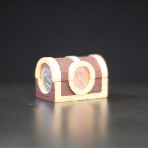 Download free 3D printer designs 52 Cent Treasure Chest, Yazhgar
