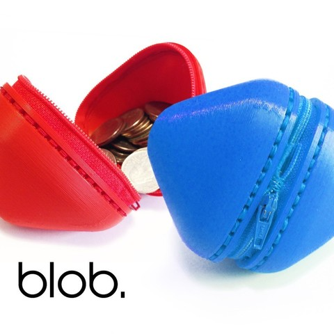 Free STL file Blob - zipper pouch, Yazhgar