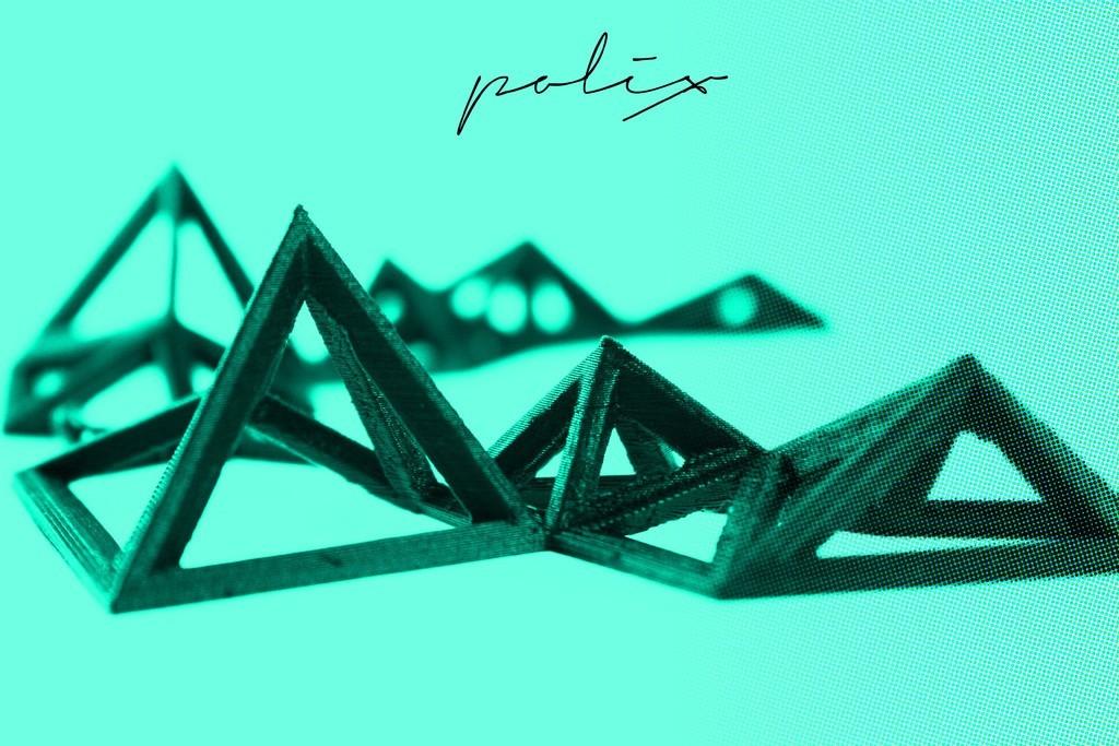 polix_logo_display_large.jpg Télécharger fichier STL gratuit Polix - Collier Polygonal • Plan pour impression 3D, Yazhgar