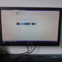 Archivos STL gratis Monitor Samsung 2494LW, Raeunn3D