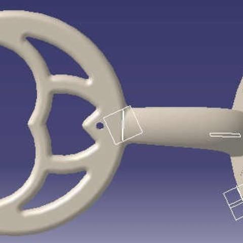 Fan_blade_support_1_display_large.jpg Download free STL file Ceiling Fan Blade Bracket • Model to 3D print, Raeunn3D