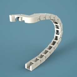 UM2CC_display_large.jpg Download free STL file Ultimaker2 Cable Chain • 3D print template, Raeunn3D