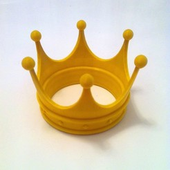 krone_display_large.jpg Download free STL file princess crown • 3D printer object, Raeunn3D