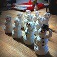 Download free 3D printer templates Snowman, Raeunn3D