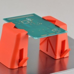 Download free 3D printer templates Magnetic PCB Holder, Raeunn3D