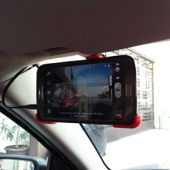 Download free 3D printing models Note 2 Dash Cam Mount, Raeunn3D