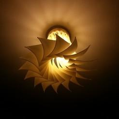 Download free 3D printing files Turbine inspired lamp shade, Raeunn3D