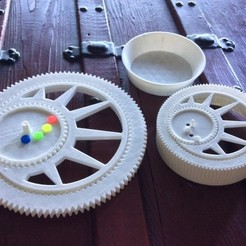 Download free 3D printer designs Sand Spirograph, Istareyn