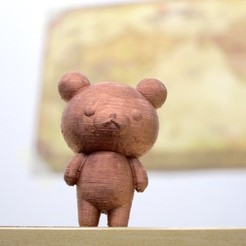 IMG_0028b_display_large.jpg Download free STL file Rilakkuma • Design to 3D print, Istareyn