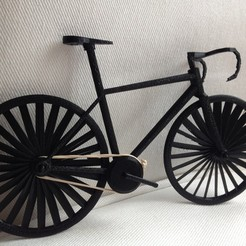 Free 3D printer designs Wind Spin Bike, Istareyn