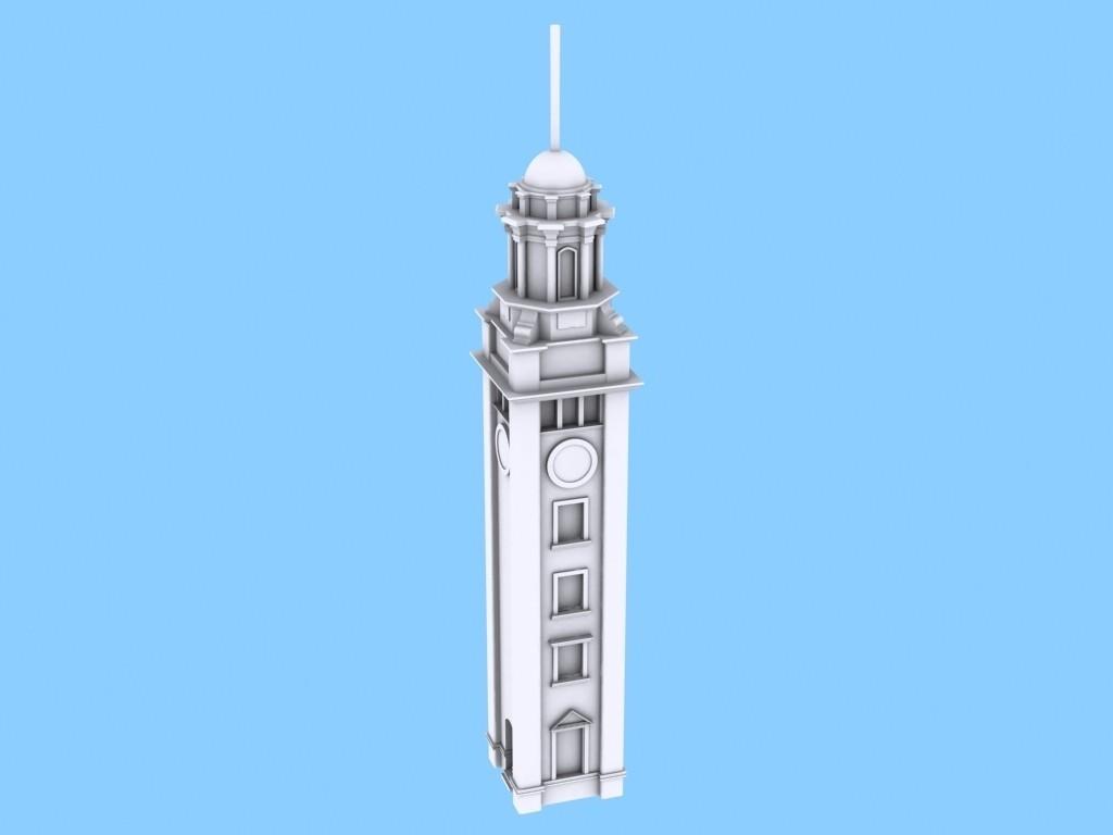 ClockTower_04_display_large.jpg Download free STL file Hong Kong Tsim Sha Tsui Clock Tower • 3D printer design, Istareyn