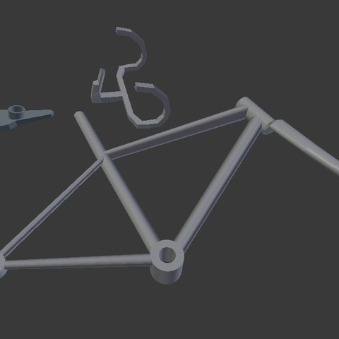 frame_display_large.jpg Download free STL file Wind Spin Bike • 3D print object, Istareyn