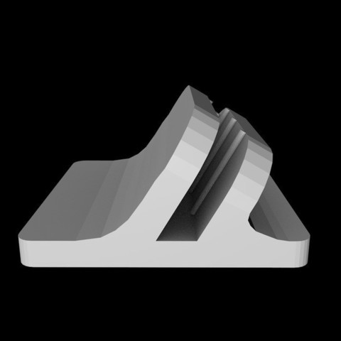 Download free 3D printer designs Naza Remote LED Clip (Angled Remix) for DJI F450, F550, Istareyn