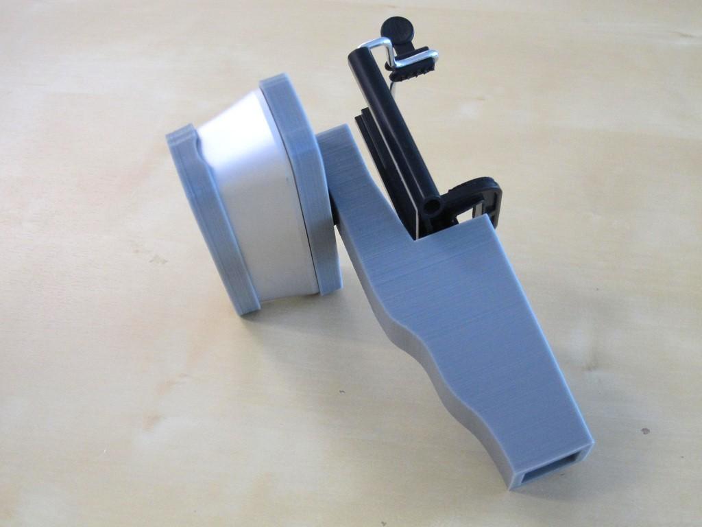 IMG_1473_display_large.JPG Download free STL file iPhone 5,6 Structure Sensor Grip • 3D printable model, Istareyn