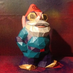 Download free 3D printer designs Low Poly Marketbot Gnome, Istareyn