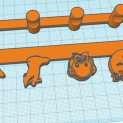 Colgador Mascarillas 03.JPG Download free STL file MASK HANGER • Design to 3D print, miguel_ksknt_93