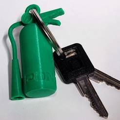 20201019_233530_2.jpg Download free STL file Fire Extinguisher keychain • 3D printing object, Sir_Rob