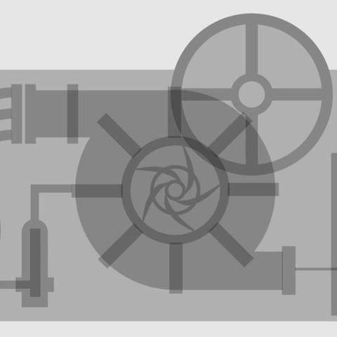 nrg_energy_center_relief_display_large.jpg Download free STL file NRG Energy (San Diego) Panel • 3D printing template, Urukgar4D