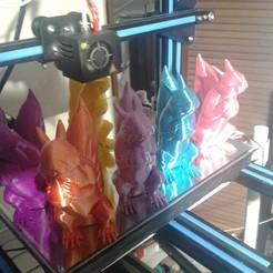 Diseños 3D gratis Squizzle A No apoya Squirrel Sculpt, Scott594