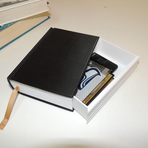 Download free 3D model Faux Book Safe, Bolrod