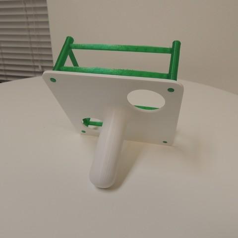 DSCN0785_display_large.JPG Download free STL file Thumb Wrestling Ring • 3D print object, Bolrod