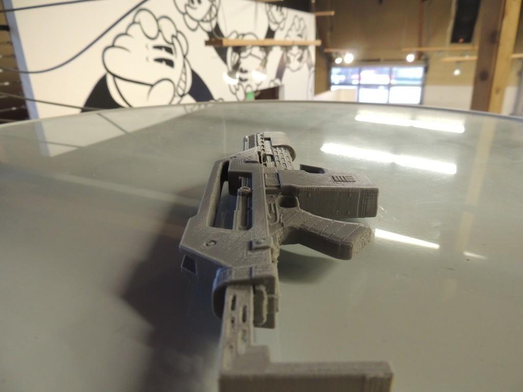 DSCN9898_display_large.jpg Download free STL file M41A Pulse Rifle • 3D printer design, Bolrod