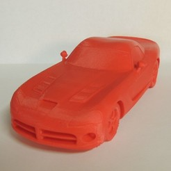 Download free 3D printer templates Dodge Viper, Bolrod
