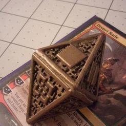 Télécharger modèle 3D gratuit Dés Hedron, Bolrod