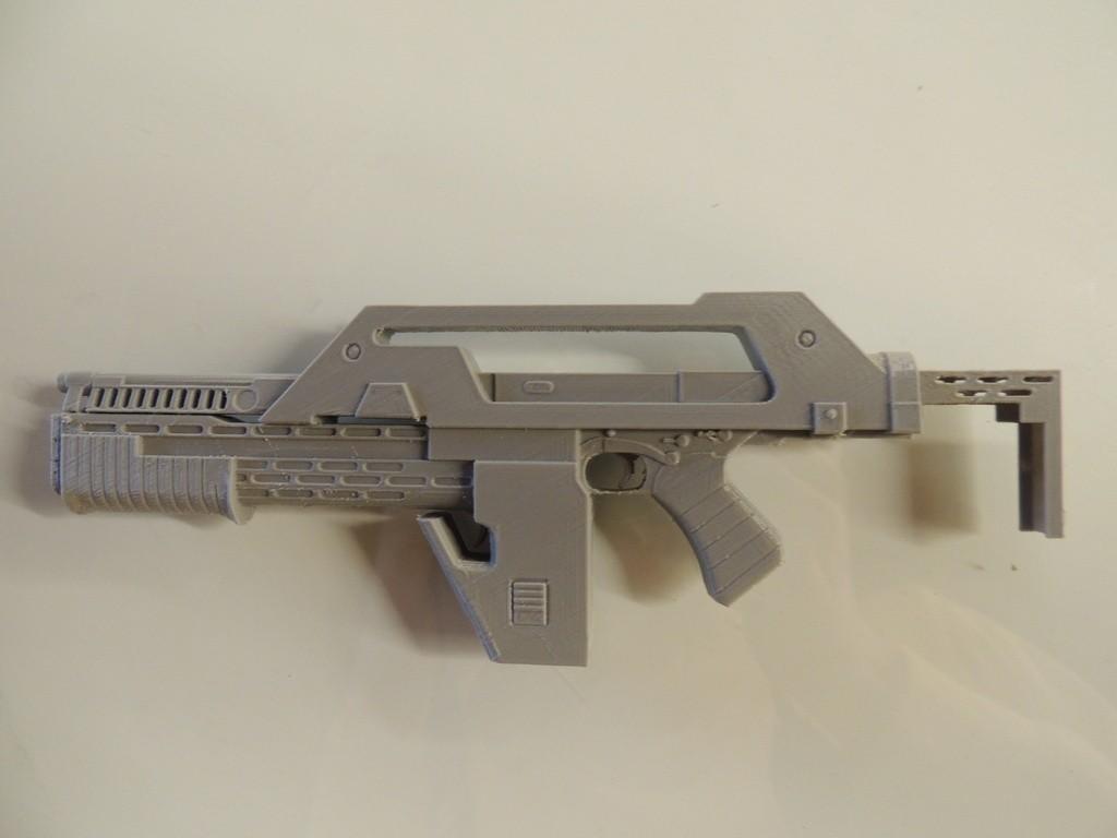 DSCN9892_display_large.jpg Download free STL file M41A Pulse Rifle • 3D printer design, Bolrod