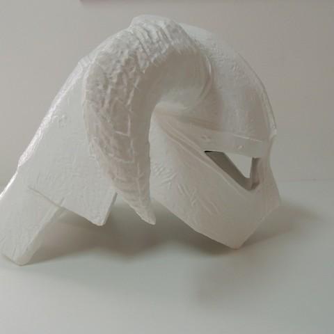 f3c090bfb833c796affd47a4b5b7c144_display_large.JPG Download free STL file Dovahkiin Helmet Full Size Remix • 3D printer template, Bolrod