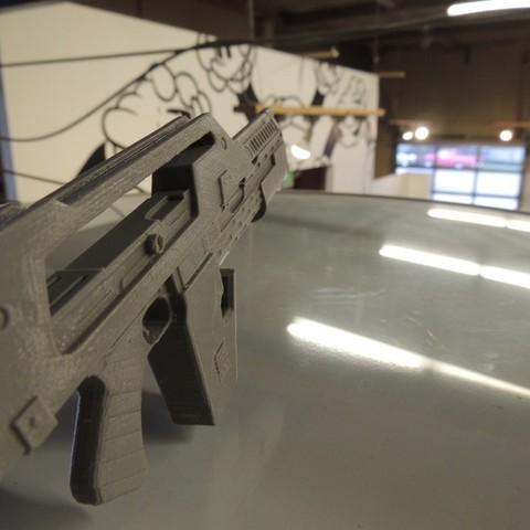 DSCN9899_display_large.jpg Download free STL file M41A Pulse Rifle • 3D printer design, Bolrod