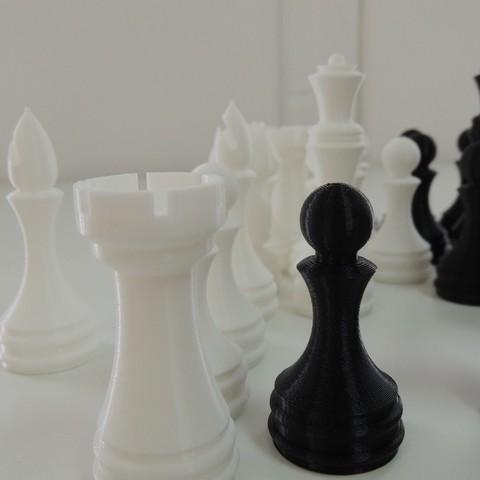 Free 3D printer model Chess Set, Bolrod