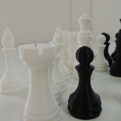 Free 3D printer model Chess Set, Bolrod