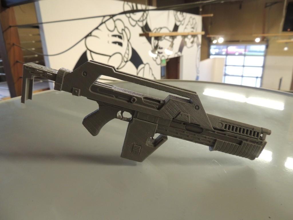 DSCN9896_display_large.jpg Download free STL file M41A Pulse Rifle • 3D printer design, Bolrod