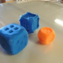 Download free 3D printing designs Stylish Collection of Dice - D6, Bolrod