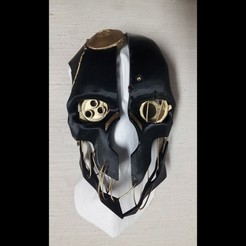 Free 3D printer designs Corvo's Mask, Bolrod