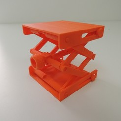 Download free 3D printer designs Platform Jack  [Fully Assembled, No Supports], Bolrod