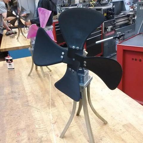 Free 3D printer model Fan Blades and Hub, Bolrod
