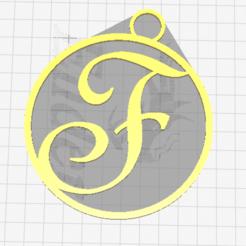 Free 3D print files Letter F, dimibroux