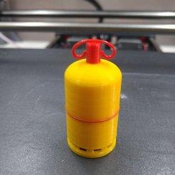 Imprimir en 3D cilindro de gas, vejuxdaniel