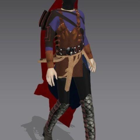 Modelos 3D para imprimir artemis.chica de la armadura, bamiranmiran0001