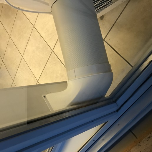 IMG_8766.JPG Download free STL file Mobile air conditioner vent • Object to 3D print, uhgues