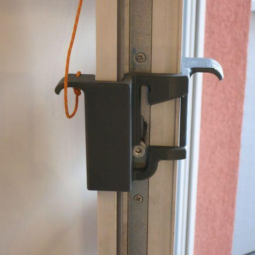 LockindHandle2.jpg Download free STL file Inside / outside lock handle for GU window door • 3D print model, uhgues