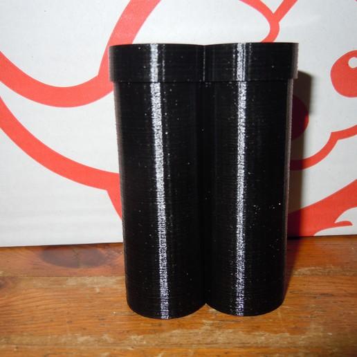DSCN1884.JPG Download free SCAD file 21700 battery case • Design to 3D print, gobo38