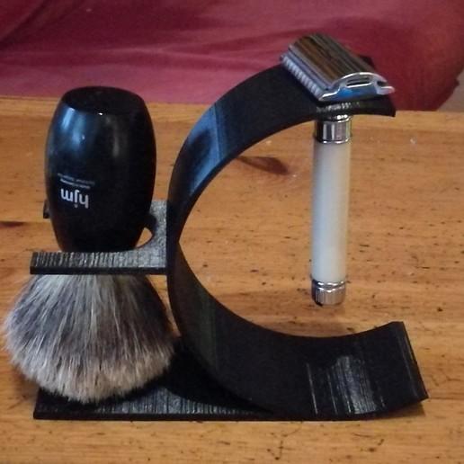 Download free 3D printing models Razor n Brush stand, gobo38