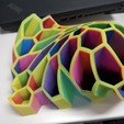 Free 3D printer designs Pen and Pencil Holder , idoran