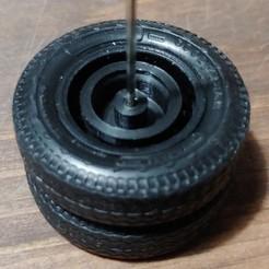 Télécharger plan imprimante 3D gatuit AMT Frein à tambour blanc de fret 1/25, dud99